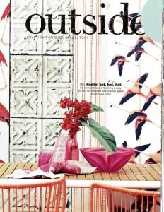 Brooklyn Tins TIN 04 Wallpaper Real Living Magazine