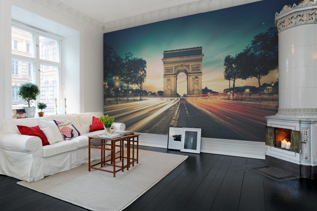 Panorama for Arc de triomphe wall mural