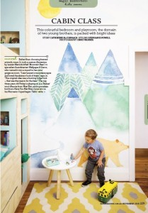 Custom Wallpaper Mural Home Beautiful Australia Magazine Photographer Chris Warnes Stylist Stephanie Powell