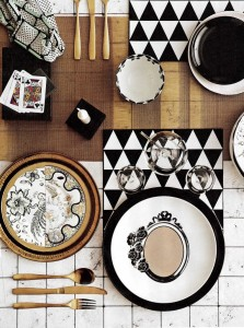 Rebel Walls Marble Tiles Mural House & Garden Magazine Styling Kate Stratton Photography Will Horner