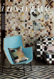 Scrapwood 2 Collection PHE 16 Wallpaper  Vogue Living Magazine Stylist Vanessa Colyer Tay