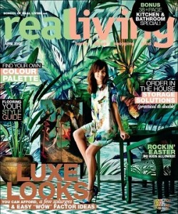 Expression Collection Tropical Colours Mural Real Living Magazine Cover