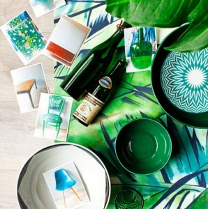Expression Collection Tropical Colours Mural Real Living Magazine