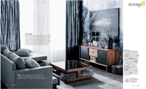 Rebel Walls Battered Wall Mural Real Living Magazine Stylist Jackie Brown Photography Maree Homer