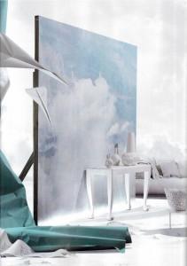 Rebel Walls Cloud Puff Mural Belle Magazine Stylist Steve Cordony Photography Edward Urrutia