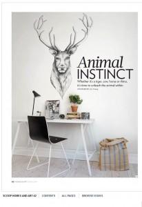 Rebel Walls Designer Forum Collection Brother Dear Mural Scoop Magazine Homes & Art Spring Edition