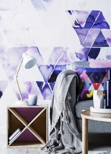 Rebel Walls Designer Forum Collection Geometric Boundaries Mural Stylist Kerrie-Ann Jones Photography Maree Homer