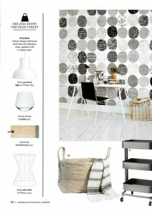 Rebel Walls Designer Forum Collection Surface Dots Mural House & Garden Magazine Compiled By Melissa Penfold