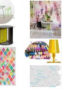 Rebel Walls Designers Forum Collection Futuristic Flowers Mural Scoop Hopmes & Art Spring Edition Magazine