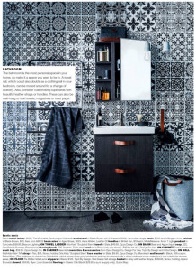 Rebel Walls Marrakech Black Mural Real Living Magazine Stylist Jackie Brown Photography Maree Homer