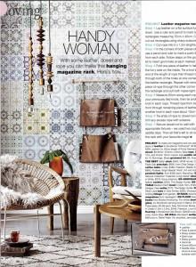 Rebel Walls Marrakech Mural Real Living Magazine Styling Kerrie-Ann Jones Photography Amanda Prior
