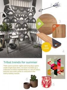 Photowall Tribal Collection Totem Mural