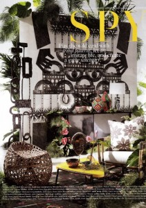 Photowall Tribal Collection Totem Mural Belle Magazine Styling Steve Cordony