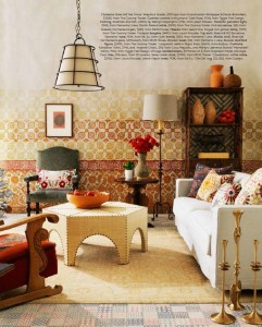 Tres Tintas Journeys Collection Mayolica Mural Belle Magazine Styling Steve Cordony Photography Edward Urrutia
