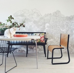 Bellewood Mural. Styling Vanessa Colyer Tay.