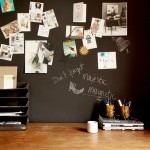Chalkboard Magnetic Wallpaper from Scandinavian Wallpaper & Decor