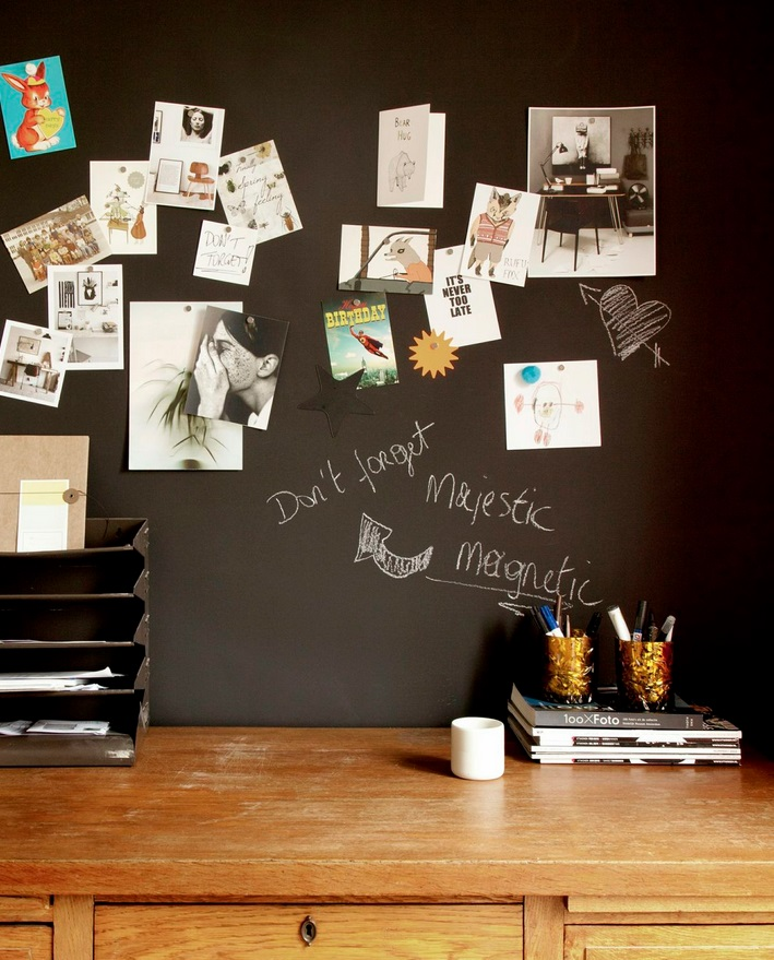 chalkboard magnetic wallpaper from wallpaper u0026 decor