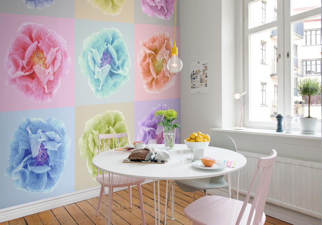 Poppy Wallpaper Home Interior : Poppy Art Andy R13151 -