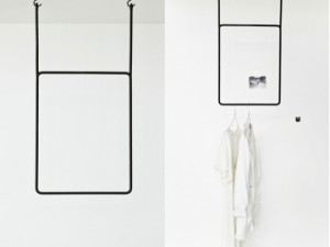 Annaleena Design Clothing Rail Vertical Height 80cm x Width 45cm