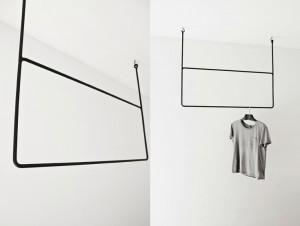 Annaleena Design Clothing Rail Rectangle Height 80cm x Width 100cm