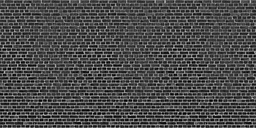 Brick wall black for Black and white wallpaper for walls