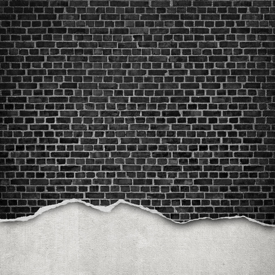 Surfaces for Black 3d brick wallpaper