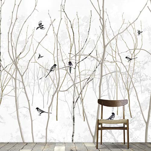 Collection 3 Scandinavian wallpaper and decor