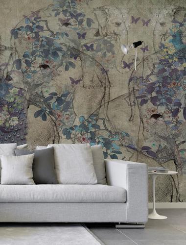 Silk road for Murales de papel pintado