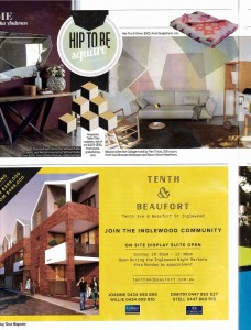 Tres Tintas Missiva Collection Mural The Sunday Times STM Magazine Compiled by Alyesha Anderson