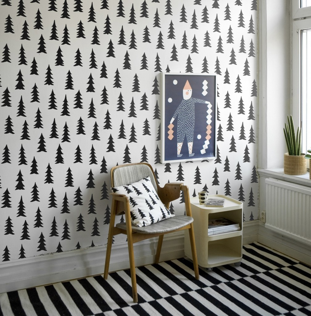 Fine little day scandinavian wallpaper Scandinavian wallpaper and decor