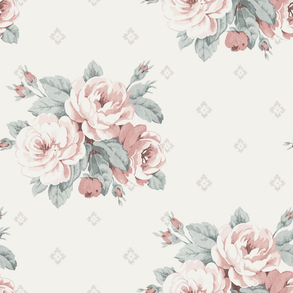 Faded rose for Au maison fabric