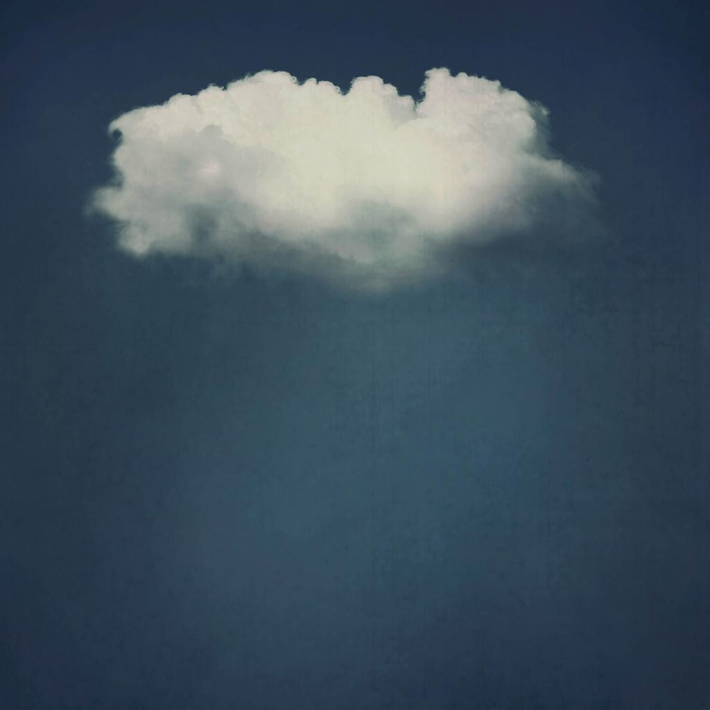 Solo cloud for Cloud mural wallpaper