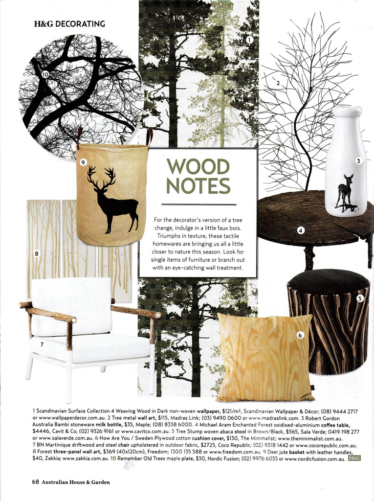Scandinavian Surface Collection 4 Weaving Wood Dark Mural